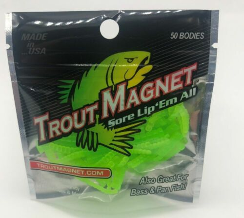 TM Body Pack NEW COLOR NEW   Trout Magnet   50 Pc