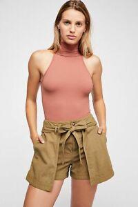 New-Free-People-Womens-Seamless-Turtleneck-Sleeveless-My-Way-Bodysuit-Xs-L-40