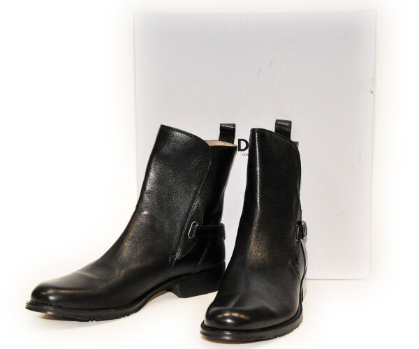 DOLCE & GABBANA Stiefeletten  Schuhe Stiefel Winterschuhe LEDER  Stiefeletten ORIGINAL 88df9b