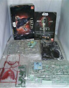 Bandai-Hobby-Star-Wars-1-144-Scale-SLAVE-I-200638-NEW-OPEN-BOX