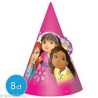 Dora The Explorer And Friends Cone Hats (8) Birthday Party Supplies Favors