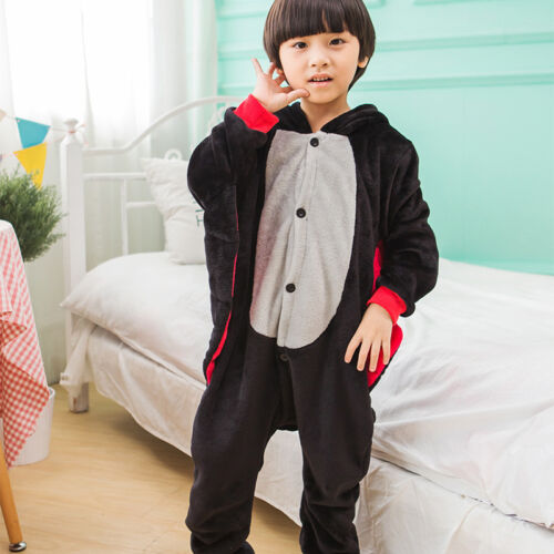 Fanc Dress Cosplay Onsie4 Adult Unisex Hooded Pyjamas Animal Sleepwear Christmas