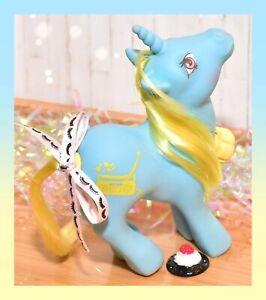 ❤️My Little Pony G1 VTG DJ Dance 'n Prance Music Radio Unicorn Tail Spins❤️