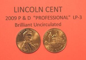 2009 P 4 Coin Set  Lincoln Cent UNC