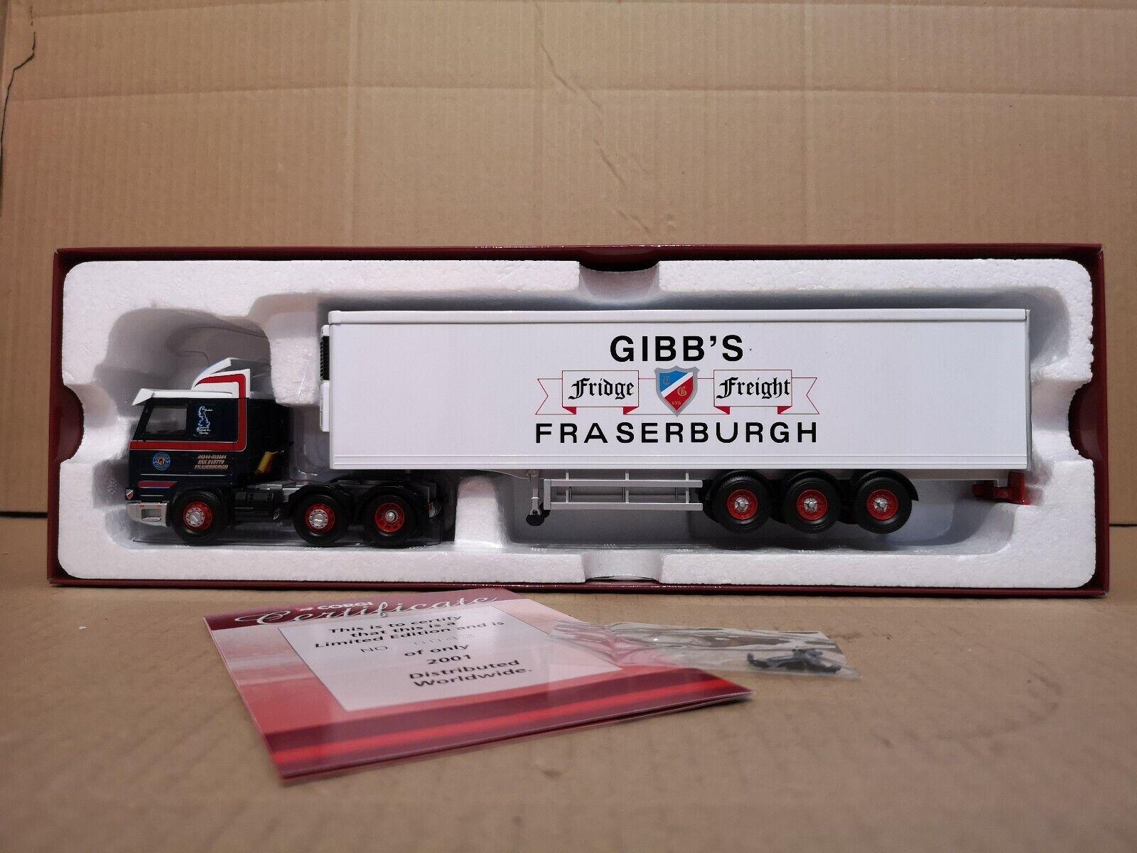 Corgi Scania 113 & Reefer Trailer- Thomas Gibbs
