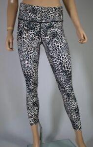 b24e5d5bcee56e NWT $58 Betsey Johnson Performance Animal Print HIGH RISE Leggings 7 ...