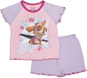 Girls Skye Pawfect Paw Patrol Short Summer Pyjamas. Age 18-24 Months. Brand New