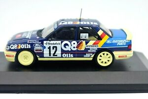 Die cast 1//43 Modellino Auto Ford Sierra RS Cosworth Rally Cajalicante 1988