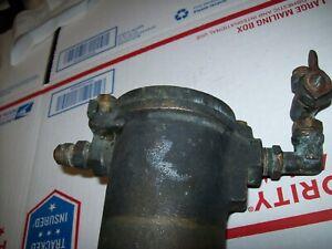 VINTAGE BRASS GROCO GAS FUEL CANISTER (GF375)FILTER CHRIS CRAFT   eBayeBay