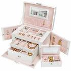 TecTake 401539 Boîte à Bijoux - Blanche