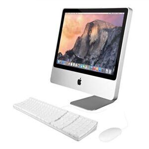 "Apple IMAC 20"" A1224 C2D P7550 2.26GHz 4GB 160GB Mac OS 10.10.5 Yosemite"