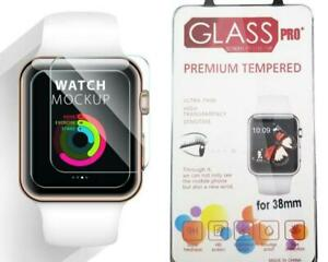 2-PACK-Apple-Watch-Tempered-Glass-Screen-Protector-Film-42MM-38MM-New-iWatch