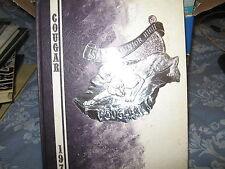 ISAAC JUNIOR JR HIGH SCHOOL YEARBOOK 1972 PHOENIX ARIZONA COUGAR