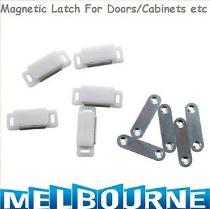 5pc-46mm-Magnetic-Cabinet-Cupboard-Door-Fastener-Latch-Catch-Lock-Magnet-Plate