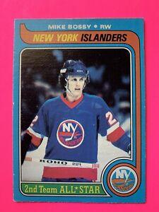Mike-Bossy-1979-80-O-Pee-Chee-Hockey-Card-230-OPC-New-York-Islanders