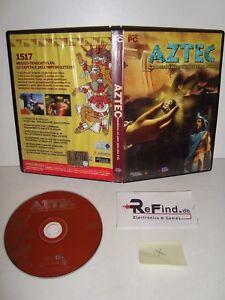 AZTEC MALEDIZIONE NEL CUORE DELLA CITTA' D'ORO PC GAME - Italia - AZTEC MALEDIZIONE NEL CUORE DELLA CITTA' D'ORO PC GAME - Italia