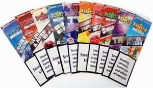 20x Variety Packs Juicy Jays Flavored Double Blunt Wraps Rolling Papers