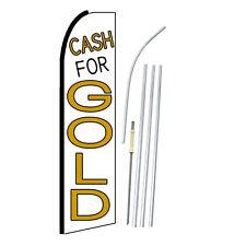 Cash For Gold Swooper Feather Flag Bundle Kit