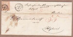 Schweiz-Brief-1862-Luzern-20-Rappen-SVIZZERA-Lettera-da-Lucerna-con-testo