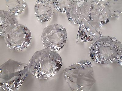 100 PCs 24mm Acrylic Crystal Bead Diamond Drops Wedding Decorations Chandelier