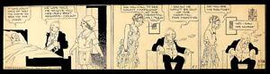 "RARE ""BRINGING UP FATHER"" ORIGINAL COMIC STRIP 5/1/30 GEORGE McMANUS 1884-1954"