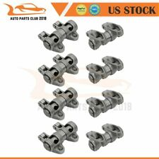 Stainless Steel Shaft Mount Roller Rocker Arm Set Fits Chevy Sbc 350 16 Ratio