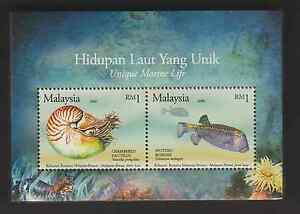 360M-MALAYSIA-2007-UNIQUE-MARINE-LIFE-JOINT-ISSUE-WITH-BRUNEI-MS-FRESH-MNH