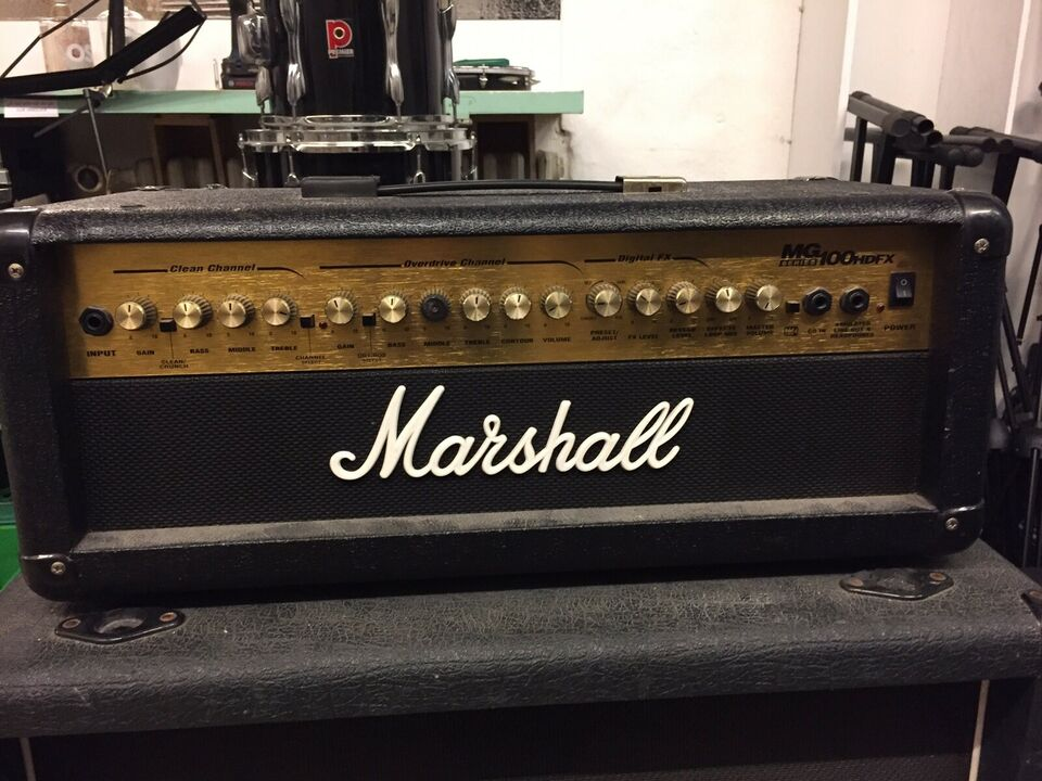 Guitaranlæg, Marshall Top+kabinet