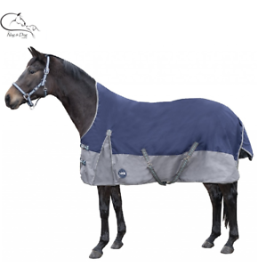 HKM High Neck Turnout 600D Rug Midbyght 200g Polyfil Lined GRATIS LeveRing