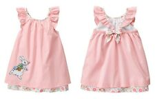 GYMBOREE NWt BABY GIRL DRESS PETER RABBIT EGG HUNT EASTER Bunny Pink 3-6 M