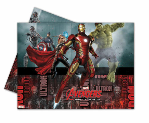 Party//Birthday//Tableware PLASTIC TABLECOVER Licensed MARVEL Characters