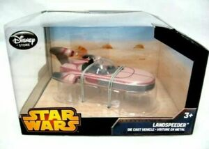 NEW-Disney-Store-Star-Wars-LANDSPEEDER-Detailed-Replica-DieCast-Collectible