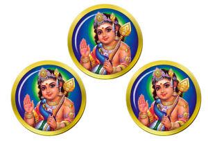 Kartikeya-Subramanya-Hindou-Marqueurs-de-Balles-de-Golf