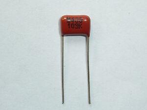 50PCS CL21 333K 250V 0.033UF 33NF P8 Metallized Film Capacitor