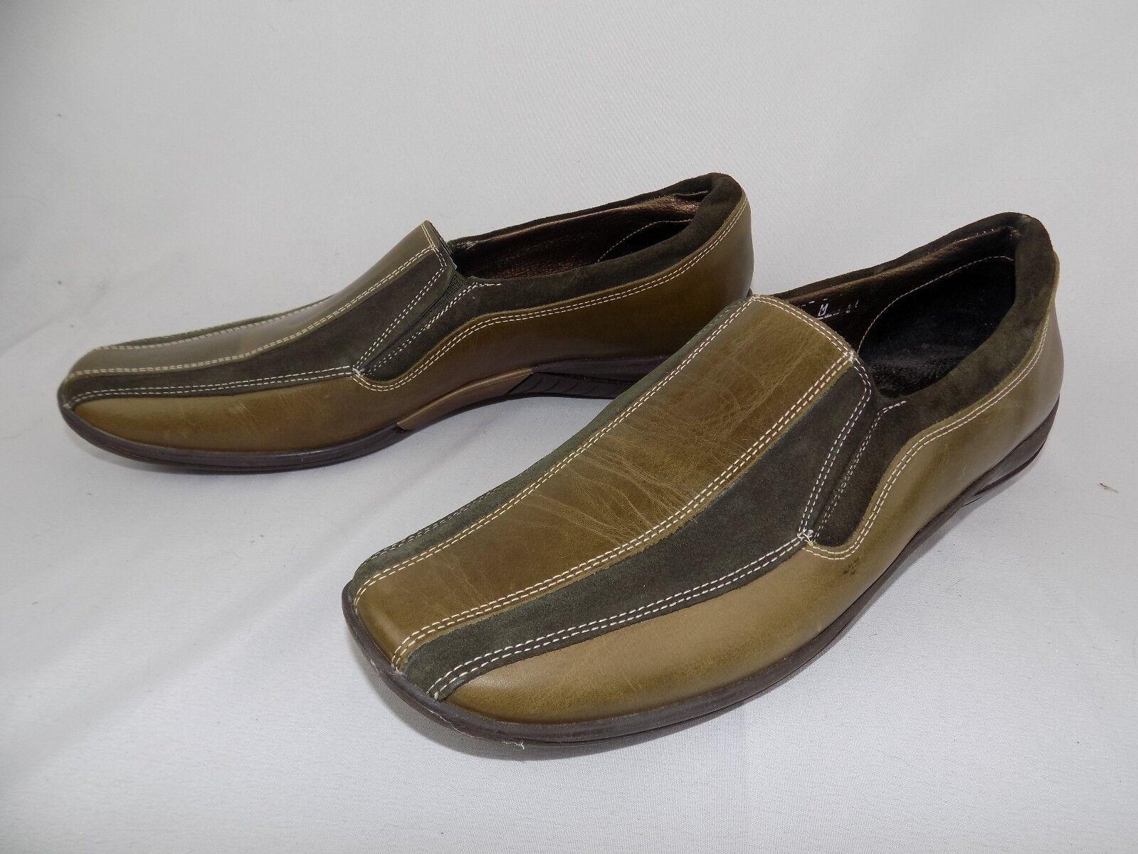 Spedizione gratuita al 100% Donna    Sesto Meucci Two tone Marrone Suede Leather Slip On scarpe Dimensione 9 M  stanno facendo attività di sconto