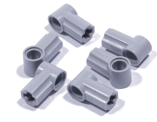 LEGO Technique 6 x Connecteur nº 1 gris clair//axe pin//32013 article neuf