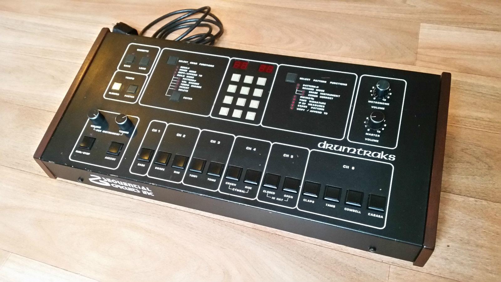 Sequential Circuits drumtraks-Roger Linn lm1 lm2