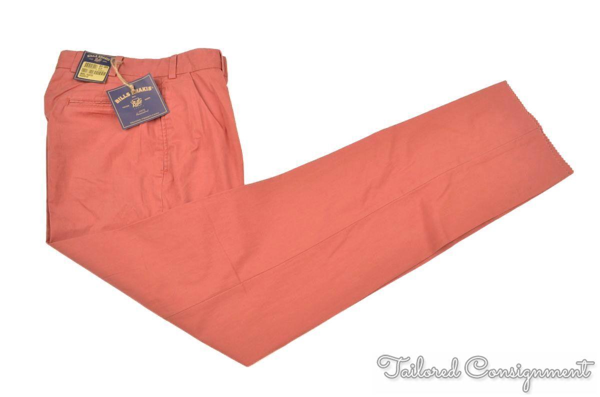 Clothing, Shoes & Accessories Men's Clothing United New Gen Mens Size 36w 34l 100% Linen Dress Pants Solid Khaki Tan New Tags Excellent Quality