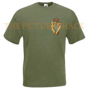 ULSTER-DEFENCE-REGIMENT-CAP-BADGE-PRINTED-ON-A-T-SHIRT-CHOICE-OF-5-COLOURS