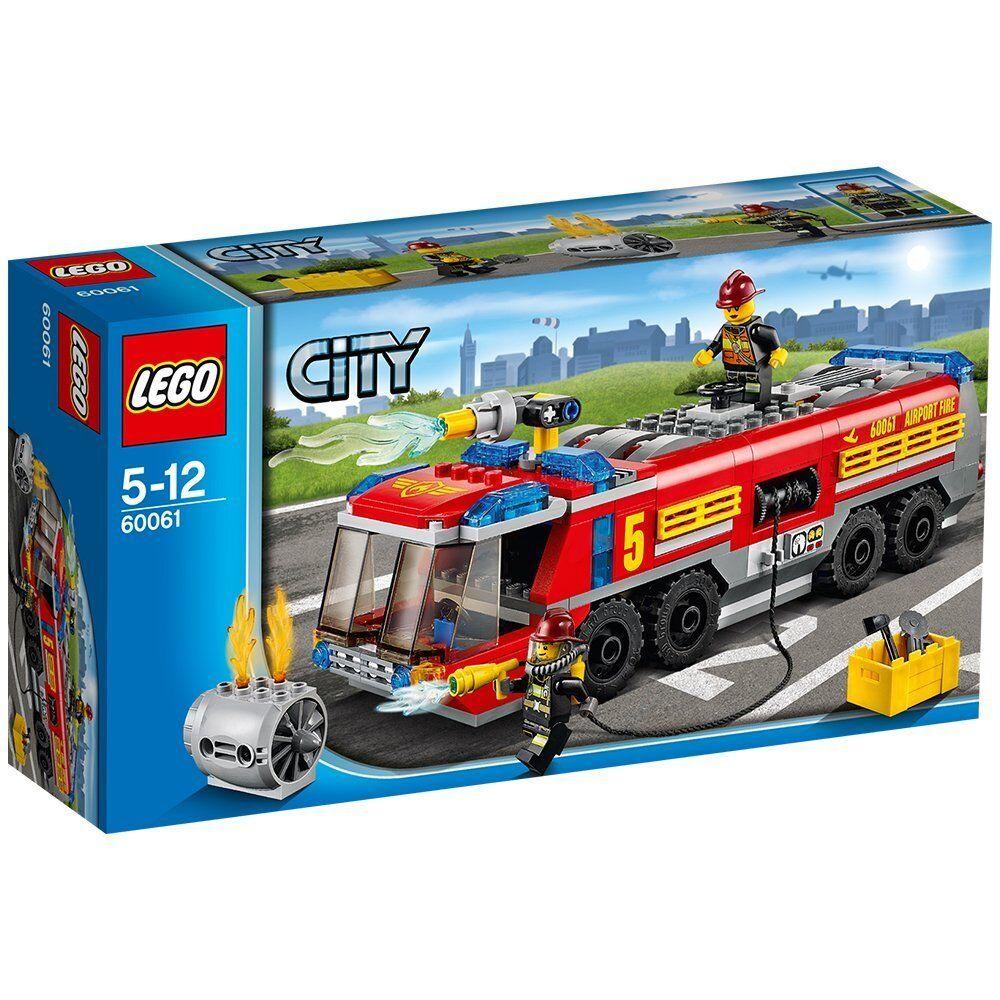 Lego 60061 Camión de Bomberos Aeroportuario
