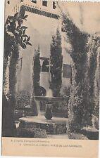 B80092 granada alhambra patio de los naranjos  front/back image