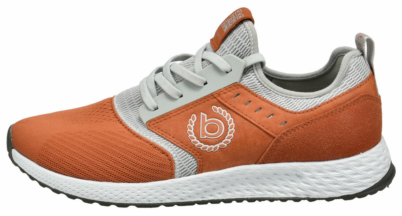 Bugatti Herren Turnschuhe Turnschuhe 341-5176a-6969-3312 Orange grau Neu