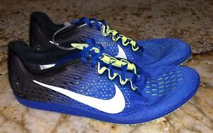 Nike Media 5 Black Cobalt Spike Blue distancia Matumbo Mens Shoes 9 New Pistas 3 11 XOwUrXnq