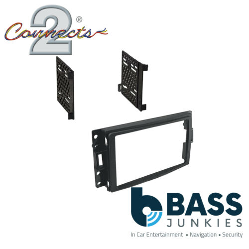 CT23GM08 Hummer H3 2006-2010 Double Din Car Radio Stereo Fascia Panel