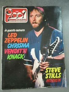 CIAO-2001-n-32-1980-STEVE-STILLS-LED-ZEPPELIN-CHRISMA-VENDITTI