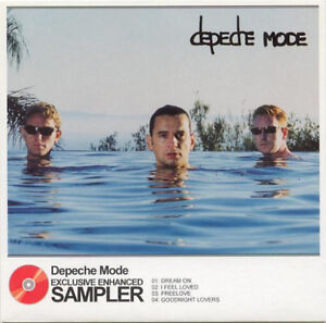 CD-PROMO-DEPECHE-MODE-EXCLUSIVE-ENHANCED-SAMPLER-RARE-COLLECTOR-COMME-NEUF