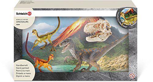 Dinosaurs Velociraptor on the hunt Schleich 42259