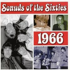 Sounds of the Sixties 1966 Lovin Spoonful Monkees Sonny & Cher Mamas & Papas 2CD