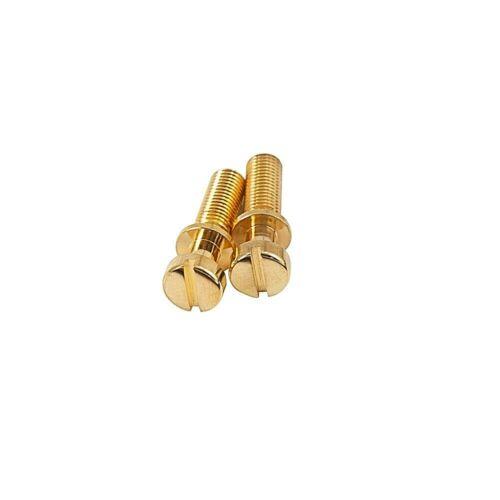 KLUSON USA KSTPSS781-G STEEL USA THREAD STOP TAILPIECE STUDS GOLD