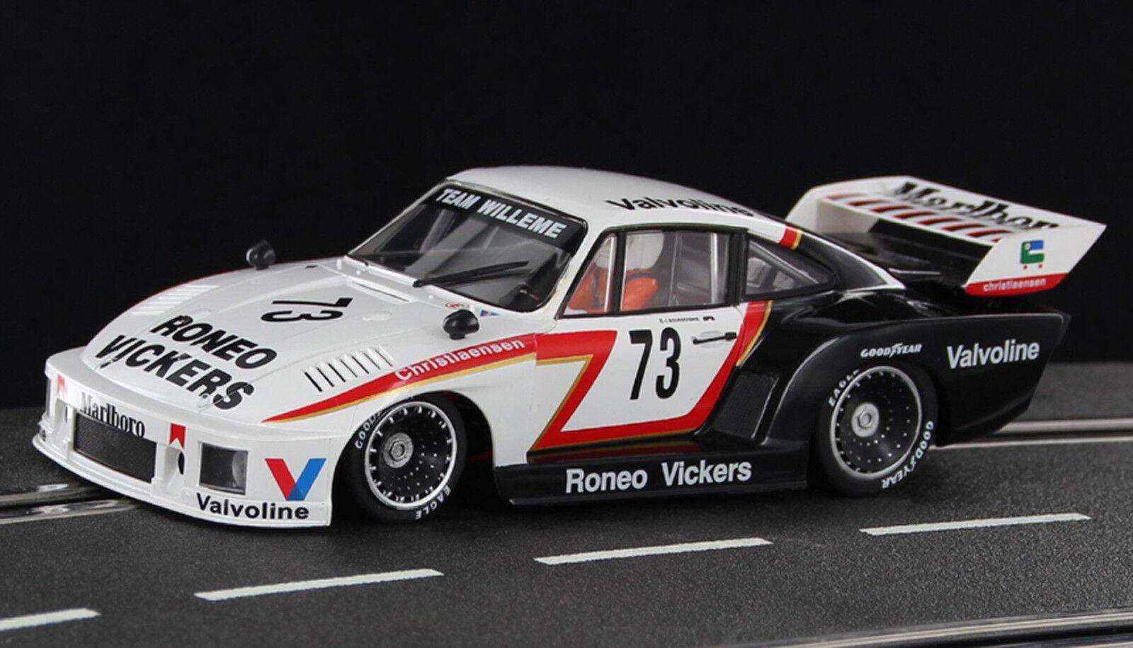Sideways Porsche 935 MarlbGold Cup - Zolder 1978 Nr. 73 M 1 32 neu
